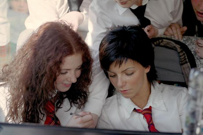 ТАТУ - Tatu Filming Show Me Love Video in Moscow