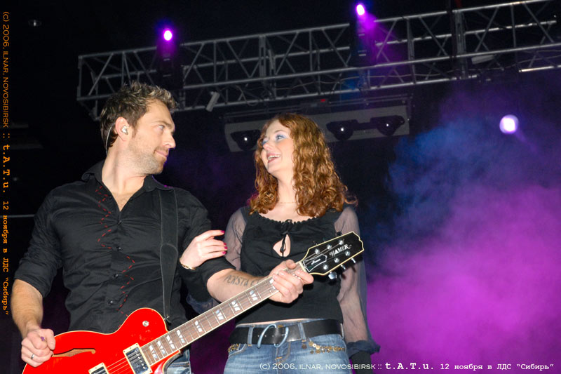 ТАТУ - Tatu Perform in Novosibirsk 12.11.2006