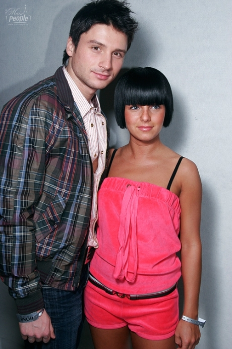 ТАТУ - Yulia Volkova at Show of Spring-Summer 07 Hugo Boss Collection in Moscow 15.03.2007