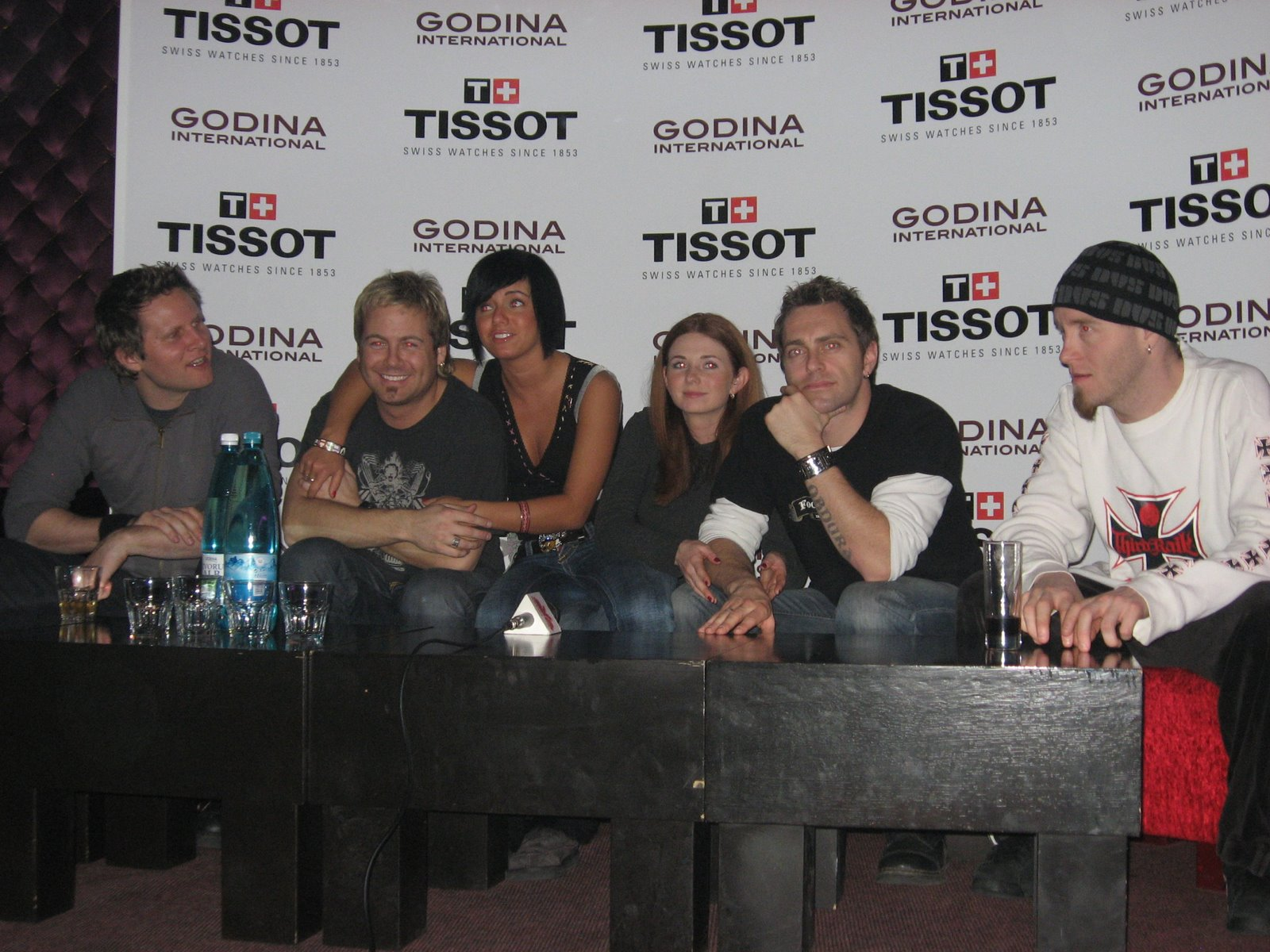 ТАТУ - Press Conference in Chisinau 20.12.2006