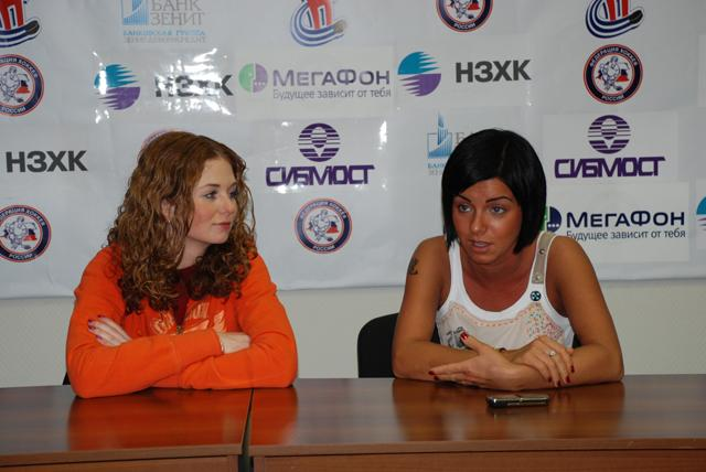 ТАТУ - Press Conference in Novosibirsk 12.11.2006