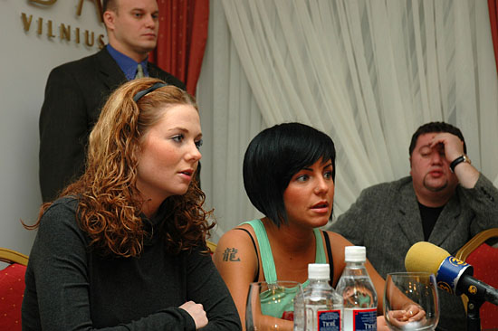 ТАТУ - Press Conference in Vilnius 14.12.2006
